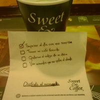 Photo taken at Sweet & Coffee by Lu L. on 8/1/2012
