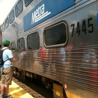 Photo taken at Metra Train Station - Lisle by Britney S. on 8/5/2011