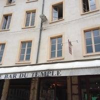 Photo taken at Bar du Temple by Audrey D. on 6/7/2012