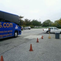 Photo taken at Megabus Bus Stop - South Side White Marsh Mall by Andres C. on 10/12/2011
