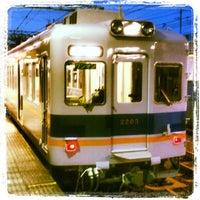 Photo taken at Kishinosato-Tamade Station (NK06) by take4 on 4/21/2012