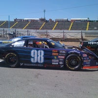 Photo taken at Stateline Speedway by Todd B. on 8/19/2011