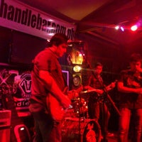 Photo taken at Handlebar Bar and Grill by John L. on 1/4/2012