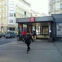 Photo taken at Metro =C= I. P. Pavlova by Tigra . on 11/29/2011