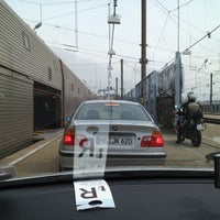 Photo taken at Eurotunnel Victor Hugo Terminal by Richard H. on 5/21/2012