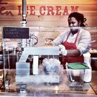Photo taken at Smitten Ice Cream by Harry B. on 3/3/2012