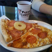 Photo taken at Pizza Schmizza by Donovan K. on 1/7/2011