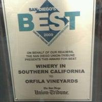 Das Foto wurde bei Orfila Vineyards and Winery von Doug C. am 11/27/2011 aufgenommen