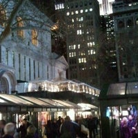 Photo taken at The Holiday Shops at Bryant Park by NYCphotos on 12/14/2011