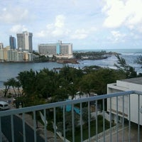 Photo taken at The Condado Plaza Hilton by Beth on 1/7/2012