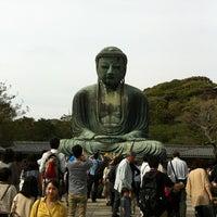 Photo taken at Great Buddha of Kamakura by Itaru K. on 4/29/2012
