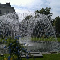 Photo taken at Place Jean Jaurès by Olivier D. on 9/3/2011