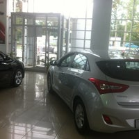 "Photo taken at Автоцентр ""Hyundai"" и ""Lada"" by Владимир К. on 8/20/2012"