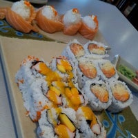 Photo taken at w Sushi by Bonnie E. on 1/17/2012