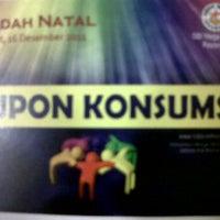 Photo taken at GBI Mega Bekasi by Tessa L. on 12/16/2011