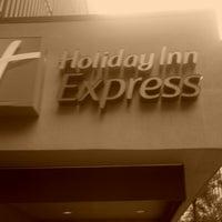Photo taken at Holiday Inn Express Philadelphia-Midtown by Mickey O. on 7/28/2012