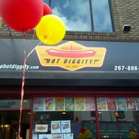 Photo taken at Hot Diggity by Lauren N. on 7/22/2012