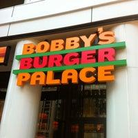 Photo taken at Bobby's Burger Palace by Alexandra A. on 10/30/2011