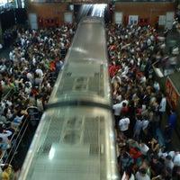 Photo taken at Estação Palmeiras-Barra Funda (CPTM) by Claudio F. on 10/24/2011