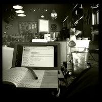 Photo taken at The Wine Rack / Java Stop Cafe by Zack L. on 8/12/2011