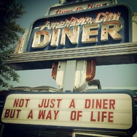 Photo taken at American City Diner by Luis P. on 6/20/2012