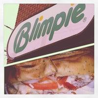 Photo taken at Blimpie by Joel T. on 4/18/2012