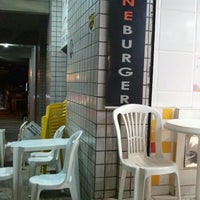 Photo taken at One Burger by Marcus S. on 1/10/2012