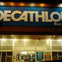 Photo taken at Decathlon by Alex A. on 3/28/2012