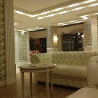 Photo taken at Airotel Stratos Vassilikos Hotel by Edie G. on 9/2/2012