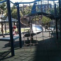 Photo taken at Ditmas Playground by Nicole S. on 8/10/2011