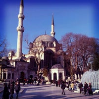 Photo taken at Eyüp Sultan Mosque by Coşkun Y. on 3/19/2012