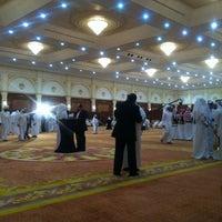 Photo taken at aljewan hall by Ahmad A. on 10/17/2011