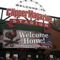 Photo taken at Clipper Magazine Stadium by Michelle W. on 5/2/2012