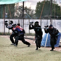 Photo taken at ASD Paintball Mestre by Roberto L. on 5/7/2012