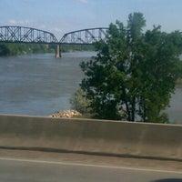 Photo taken at Missouri River by Rick E F. on 7/12/2011