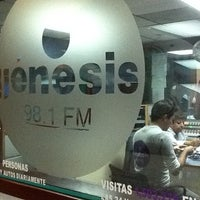 Photo taken at Genesis 98.1 FM by Perla B. on 11/15/2011