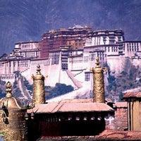 Photo taken at Dalai Lama Temple   दलाई लामा मंदिर by Florin C. on 2/21/2012