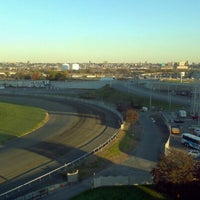 Photo taken at Meadowlands Racing & Entertainment by Zato I. on 11/6/2011