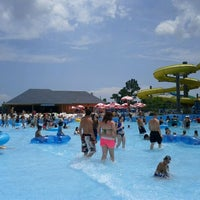 Photo taken at Gulf Islands Waterpark by sheila t. on 7/6/2011