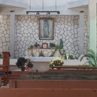 Photo taken at Iglesia de Guadalupe by Briz C. on 3/31/2012