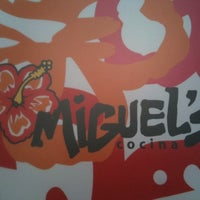 Photo taken at Miguel's Cocina by Lisa S. on 5/10/2012