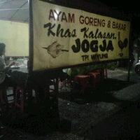 Photo taken at Ayam Goreng & Bakar Kalasan by risky T. on 9/5/2012
