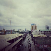 Photo taken at Yellow Line - Quezon Avenue Station by Mauie F. on 6/15/2012