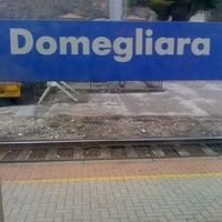 Photo taken at Stazione di Domegliara by Giordano S. on 3/15/2011