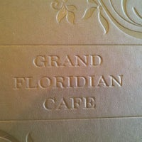 Photo taken at Grand Floridian Cafe by Whiskey S. on 4/7/2012