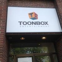 Photo taken at Toonbox Entertainment by Hubert K. on 5/18/2012