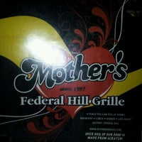 Photo taken at Mother's Federal Hill Grille by Don h. on 11/5/2011