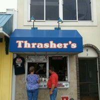 Photo taken at Thrasher's French Fries by Rick S. on 8/6/2012