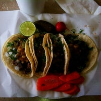 Photo taken at Ricos Tacos el Tio by Adrian B. on 11/14/2011
