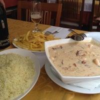 Photo taken at Antônio's Restaurante by Grazi S. on 3/31/2012